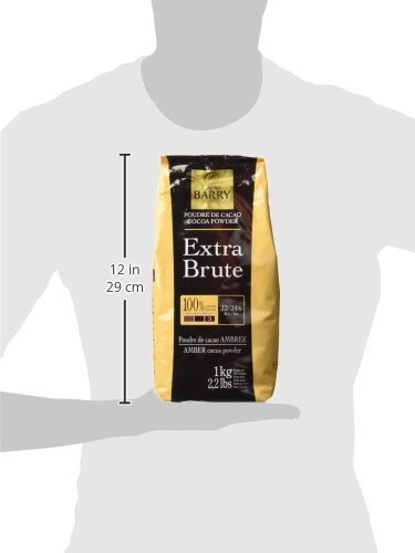 Cacao Barry Cocoa Powder - 100% Cacao - Extra Brute - Six 2.2 Bags by Cacao Barry (Image #3)