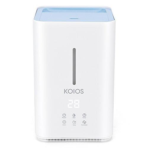 Humidifier, Koios Ultrasonic Cool Mist 4L Humidifier, Open Water