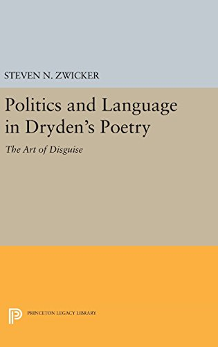 Politics and Language in Dryden`s Poetry – The Art of Disguise