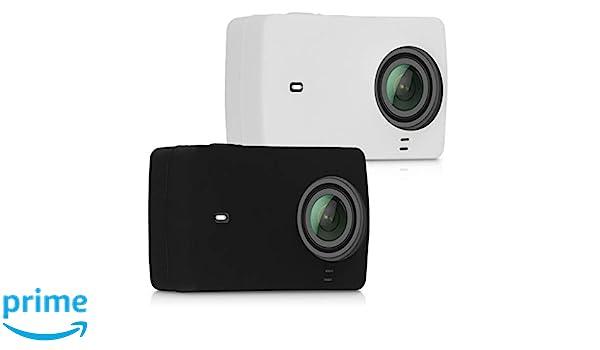 kwmobile 2X Funda para Xiaomi Yi Action Camera 4K/4K Plus ...