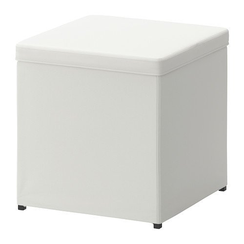 Ikea Ottoman with storage, Ransta white 1426.201114.3022 by IKEA