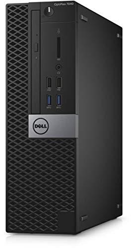 Dell OptiPlex 7040 SFF 6th Gen Core i3-6100 8GB 500GB DVDRW HDMI WiFi Windows 10 Professional Desktop PC Computer…