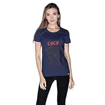 Creo T-Shirt For Women - M, Navy Blue