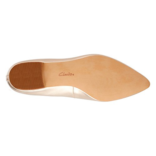 Leather Champagne Piatto Corabeth Clarks Abby qzRxC