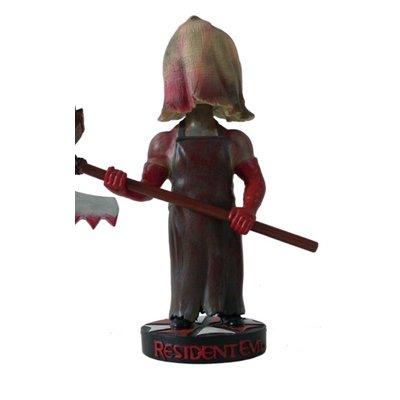 Hollywood Collectibles Group HCG Resident Evil the AXE MAN Head Knocker Bobble Head