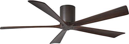 Matthews IR5H-TB-WA-60 Irene 60″ Outdoor Hugger Ceiling Fan