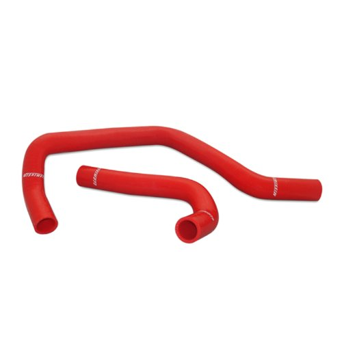 Mishimoto MMHOSE-INT-94RD Acura Integra Silicone Radiator Hose Kit 1994-2001, Red (Int Fiber)