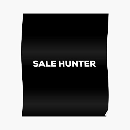 Hunter College Halloween Party (Sale Hunter Poster - For Office Decor, College Dorm, Teachers, Classroom, Gym Workout And School Halloween, Holiday, Christmas Party ! Great Inspirational Wall Art)