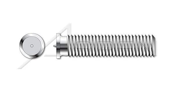 200 pcs Type PT Metric Weld Studs A2 Stainless Steel M8-1.25 X 30mm ISO 13918