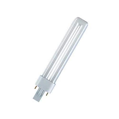 Lot de 10 ampoules /à /économie d/énergie Osram DULUX S 9 W//840 2 broches 4000 K Blanc froid