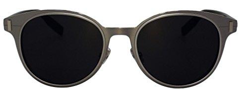 Christian Dior Homme DIORDEPTH01 C52 LIGHT RUTHENIUM BLACK/DARK GREY
