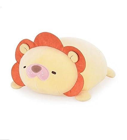 Amazon.com: 2 Pcs Almohada Metoo muñeca león y oso Cute ...
