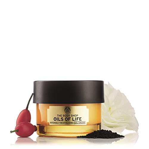 The Body Shop Oils of Life Intensely Revitalizing Cream, 1.69 Fl Oz