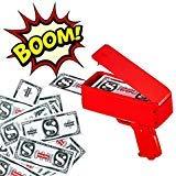 Cash Money Gun Spray 50-100 Money Gun Party Celebraton Make It Rain US Dollars Active Atmosphere (Best Spray Gun For The Money)