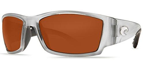Costa Del Mar Corbina Sunglass, Silver/Copper - Costa Amazon Sunglasses