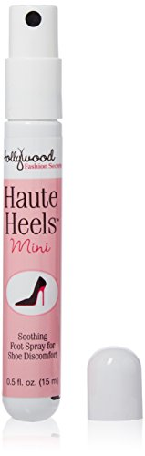 Hollywood Mini - Hollywood Fashion Secrets Haute Heels Mini Spray for Foot relief, works all types of shoes, 0.5 oz
