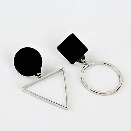 Unique Femme Cadeau Mode /él/égant asym/étrique Triangle Rond Boucles doreilles Filles
