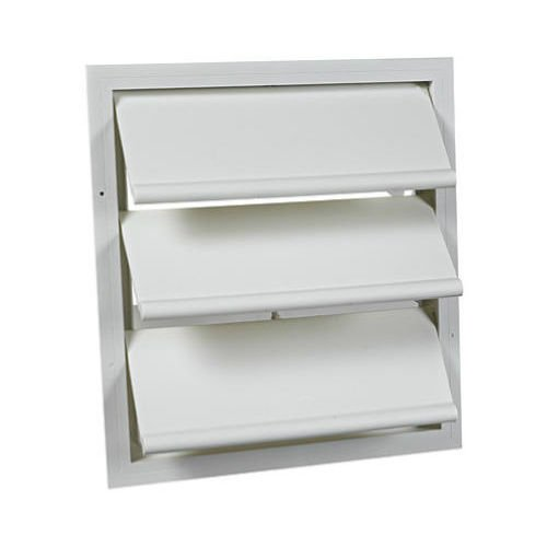 Air Vent 54703 White Automatic Louvered Gable Shutter 53315 53316 53319 53320 (Air Vent 53319)