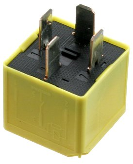 (OES Genuine Yellow Relay for select Land Rover Defender 90/Discovery models)