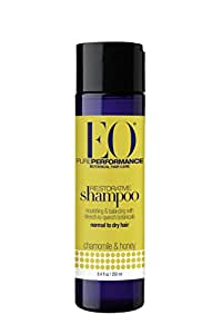 EO Botanical Restorative Shampoo for Normal to Dry Hair, Chamomile and Honey, 8.4 oz (Pack of 3)