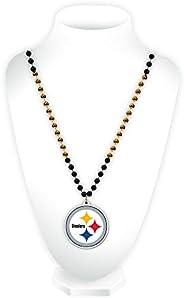 NFL Rico Industries Team Logo Mardi Gras Style Beads, Pittsburgh Steelers
