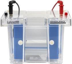 Labnet Enduro E2010-P2 PAGE 2D System, 8cm Gel Length, 10 tubes/run Capacity, 10 (1/gel) Maximum samples, 19cm W x 13cm D x 15cm H Tank Dimension, 500ml Buffer volume (Enduro Gel System)