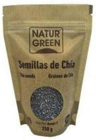 Semíllas de Chía. Orgánicas y con certificado ecológico. 250 gr ...