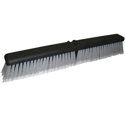 O-Cedar JAN114 Medium-Duty Push Broom Head, 18'' (Pack of 12) by O-Cedar