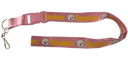 NFL Pittsburgh Steelers Lanyard, Pink [Sports]