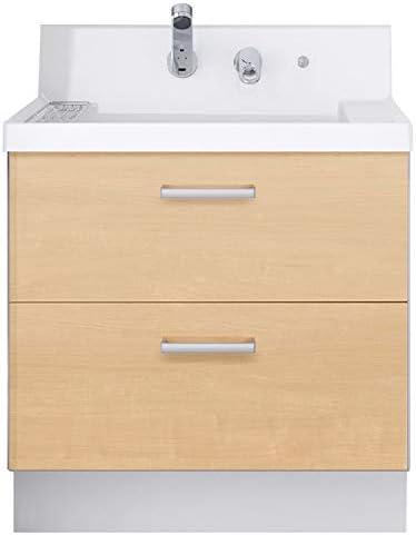 イナックス(INAX) 洗面化粧台 K1シリーズ 幅75cm フルスライドタイプ シングルレバーシャワー水栓 K1FH4-755SY 一般地用 クリエペール(LP2H)