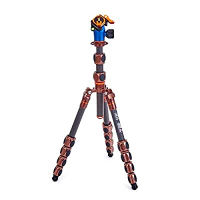 Image of 3 Legged Thing Leo 2.0 Carbon Fiber Tripod System with AirHed Pro Lever ballhead - Bronze
