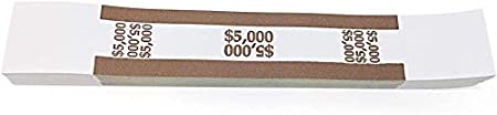 Self-Sealing Money Bands for Organizing Cash Dunbar Security Products Currency Straps Green, 200 x $1
