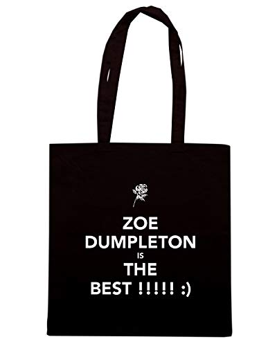 DUMPLETON Nera ZOE THE TKC1823 Borsa BEST Shopper IS xPqwnZC