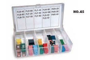 Bussmann No.500 Glass Tube and Blade Type Fuse Assortment Display - 480 Fuses from Bussmann