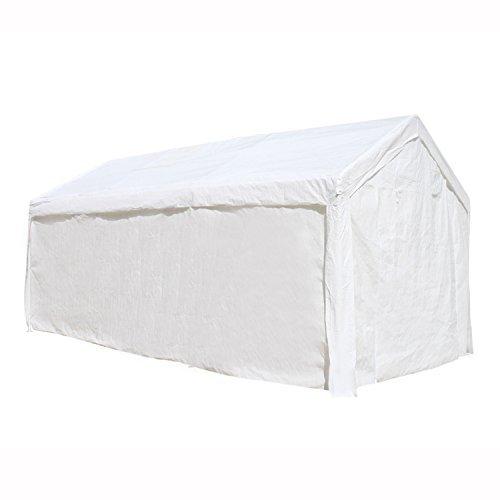 ALEKO Outdoor Carport Garage Shelter 10 x x 8.5 Feet White