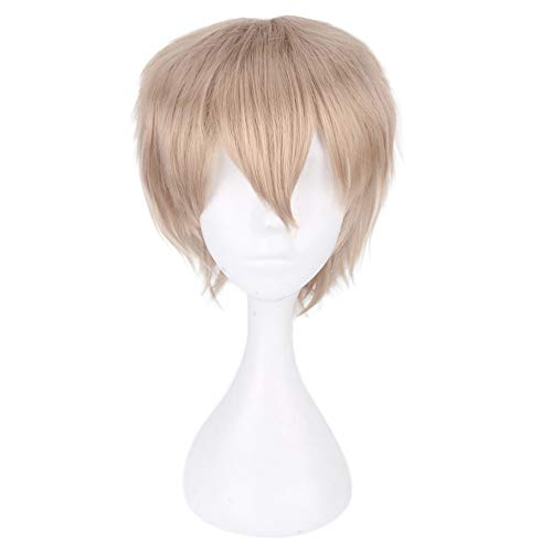 Hunputa Anime Cosplay Wig Synthetic Party Hair For Boy Teens Fake Hair Natural Looking Wigs ()