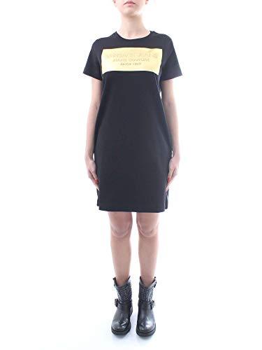 Negro D2 Versace Mujer Vestidos Htb440 Jeans 30187 YOCwqfgx