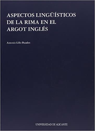 Aspectos linguisticos de la rima en el argot ingles (Spanish Edition) (Spanish) Paperback – July 4, 2000