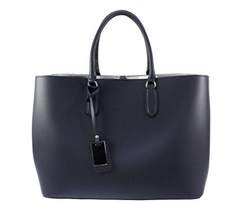 cuir sac main main femme cuir sac Italiana Plusieurs sac a sac Bleu cuir a cuir main sac a a sac Sac Marine Coloris UFqgEE
