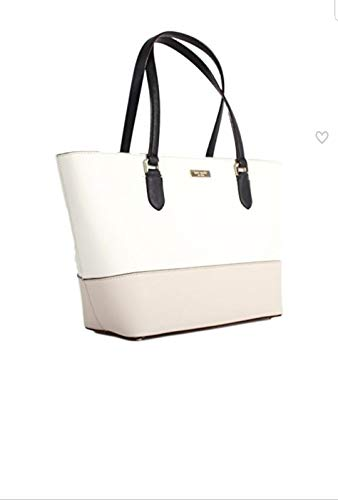 Kate Spade New York Small Dally Laurel Way Purse (Cement/Black/Pumice) ()