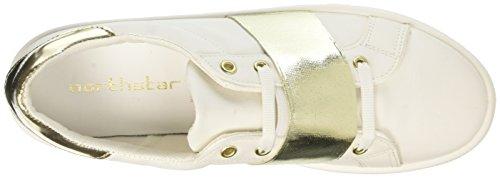 Scarpe Basse Bianco North Donna Star 5411276 Sportive 4qZPEg