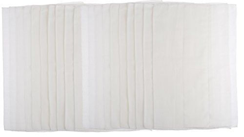 Gerber 20-Pack Cloth Diaper Prefold Premium 6-ply with absorbent padding