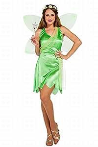 Disfraz de Hada Campanilla Verde para mujer