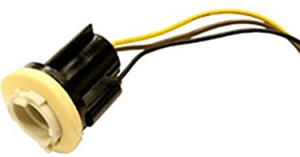 amazon com pigtail socket assembly park stop tail lights 1157 rh amazon com Mustang Tail Light Socket Lamp Socket Types
