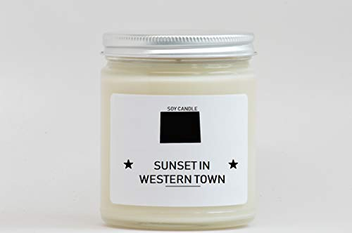 Wyoming Scented Candle - Evocative Candle - Homesick Gift - Feeling Homesick- State Scented Candle - Moving Gift - College Student Gift. ()