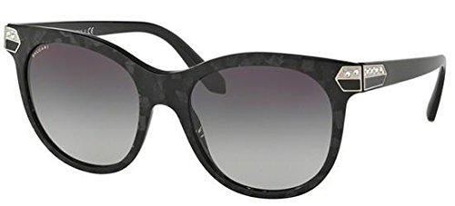 Bvlgari Women's BV8185B Sunglasses Bvlgari Black (Mamba) / Grey Gradient 55mm (Bvlgari Sonnenbrille Damen)
