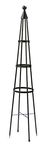 Achla Designs OBL-01, 61-in Wrought Iron Garden Obelisk Trellis, H, -