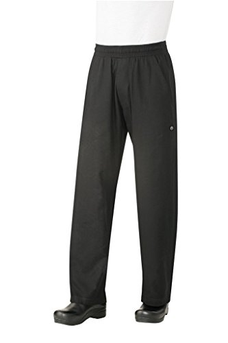 Chef Works Men's Better Built Baggy Chef Pant (BSOL)