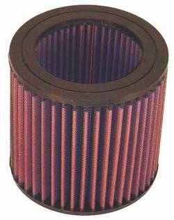 K&N ENGINEERING E-2455 Air Filter; Round; H-5.438 in.; I.D. 3.75 in.; O.D. 5.5 in.;