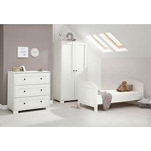 Mamas And Papas Harrow 3 Piece Nursery Furniture Set   White.